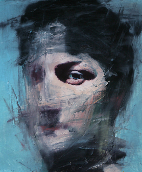 Stranger 69/ 72.8x60.6cm/ Oil on canvas/ 2014